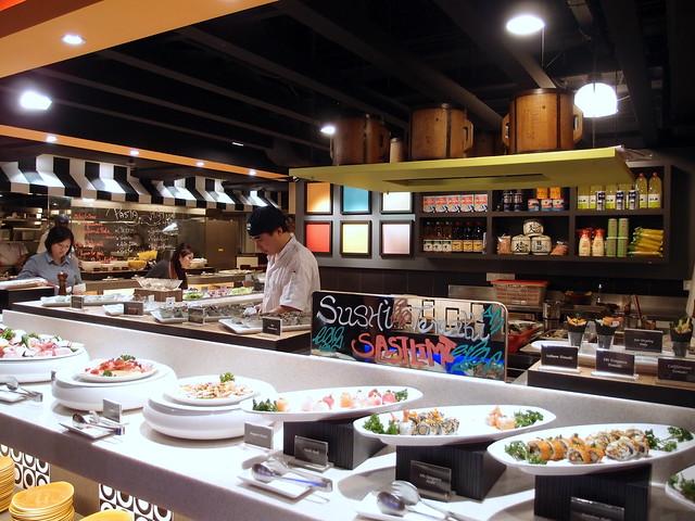 Buffet Town Sushi Selections