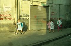 milano in fiamme (manuel rio) Tags: street italy garbage italia estate napoli naples greetings sud spazzatura caldo
