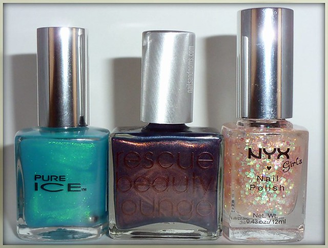 Pure Ice Heartbreaker, Rescue Beauty Lounge Più Mosso, NYX Girls Dreamy Glitter
