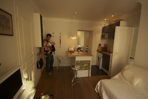 Sophie's flat in Montmartre