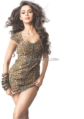 Mallika Sherawat Flaunts Hot Curvy Figure in Tight Mini Dress   www Bollyfame com