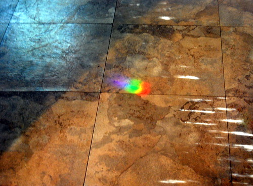 Kitchen Floor Rainbow