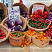 Picture Perfect Eggplant and Peppers at the Hollywood Farmers Market