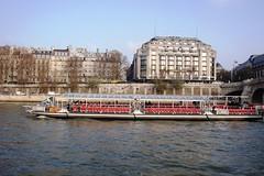 Seine River - Paris (mseema) Tags: cruise paris france seine river boat europe boatcruise theriverseine