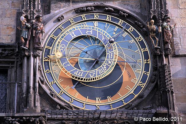 Reloj astronómico. © Paco Bellido, 2011