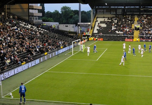 Crusaders Corner against Fulham July 2011