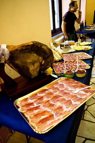 Cured meats at Consorzio Agrario di Siena