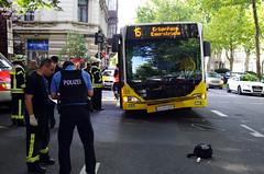 Unfall mit Linienbus 1. Ring 10.08.11