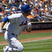 Lucas Duda runs to first
