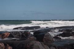IMG_6183 (Large) (Copperhobnob) Tags: sea sky beach coast sand rocks waves aberdeenshire stcombs