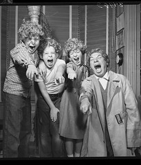 Harpo Marx and Young 'Uns