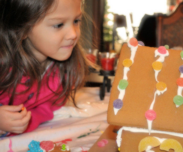 gingerbread house Audrey