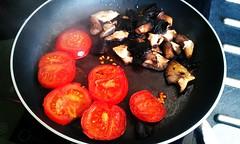 Tomatoes & Mushrooms