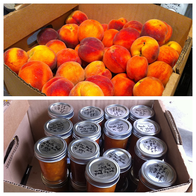 Box of Peaches to box of Jam