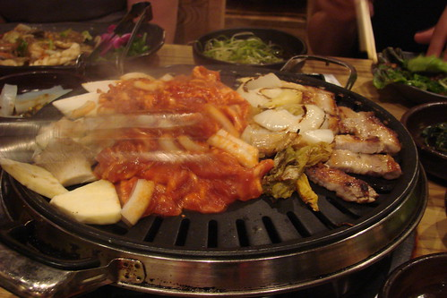 Pork on the Grill at Miss Korea