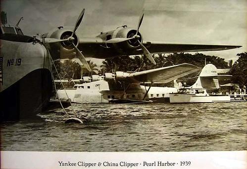 Boeing 314 Yankee Clipper & Martin M-130 China Clipper