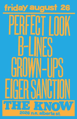 8/26/11 PerfectLook/B-Lines/Grown-Ups/EiglerSanction