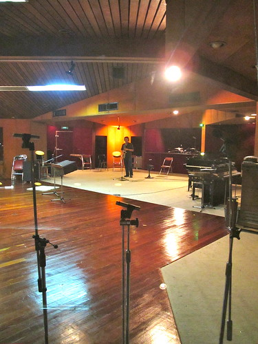 See how big the studio is!