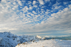 November sky (.:: Maya ::.) Tags: winter white mountain snow clouds trekking wind peak bulgaria pirin  bezbog     mayaeye mayakarkalicheva  wwwmayaeyecom