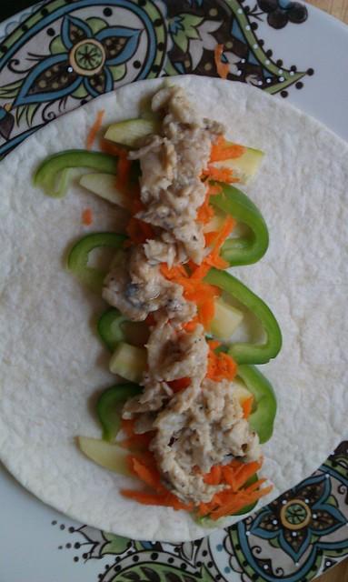 Pretty fish taco