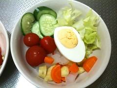 朝食サラダ(2011/8/16)