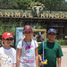 Jacob, Sydni and Caleb at Disney's Animal Kingdom