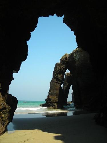 Praia das Catedráis (Ribadeo, Lugo)