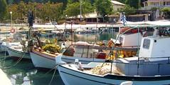 Greece, KORFU, Fischerboote im Hafen   - 26 a (roba66) Tags: greek boot boote hafen corfu korfu griechenland fischer corfou worldtrekker absolutelyperrrfect blinkagain tanjakorfu2008