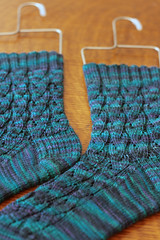 River Rapid Socks - TFA Purple Label in Teal