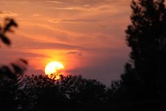 Tramonto (AL) - Esplora #492 (Gianni Armano) Tags: tramonto agosto piemonte alessandria 2011 ultimateshot sangiulianonuovo