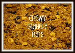 CHEWY GRANOLA BARS BUTTON
