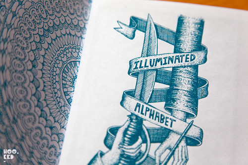 Sheffield based street artist Phlegm has released his Illuminated Alphabet Zine.
