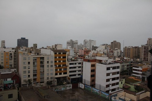 View from our hotel in Lima by Buggs Moran