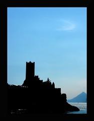 Un incanto (lentoviaggiare1) Tags: italy lago italia azzurro malcesine lagodigarda castelloveneto