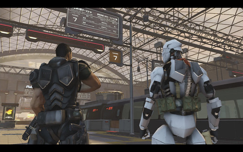 Binary Domain - Gamescom Screens