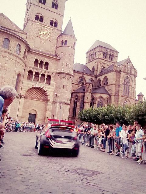 ADAC Rallye Deutschland Showstart Trier