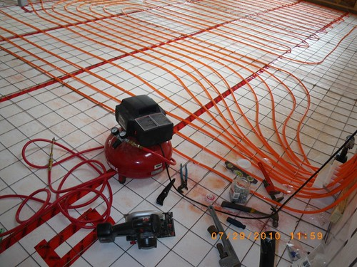 039  In-floor Hydronic Heat - Red Rock