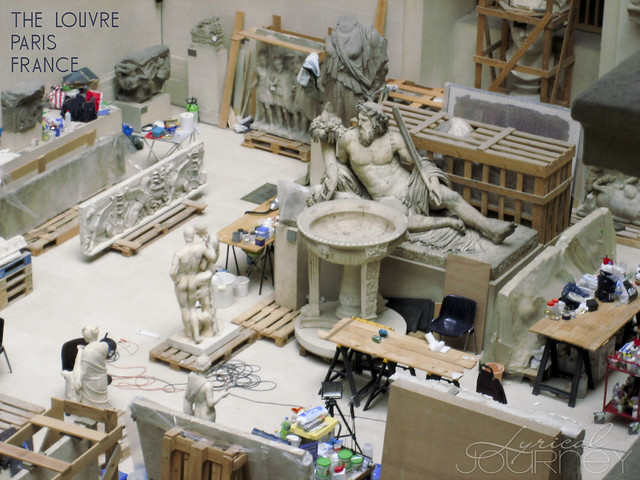 Louvre Workroom (Art at Rest)