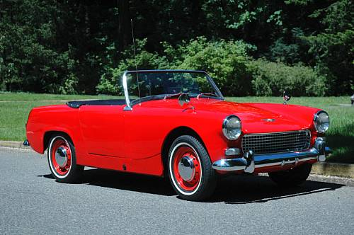 1962 Austin-Healey Sprite - sold for $18,720