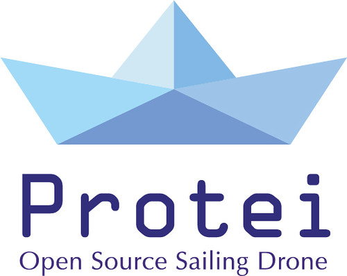 Protei logo, Open Source Sailing Drone