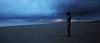 Approaching Storm - Crosby Beach (Ryan McGuinness Photography) Tags: england liverpool dusk naturallight powerful nightphotograpy mcginness anotherplace gormleystatues ryanmcguinness liverpoolphotographer crosbybeachstorm naturalatmosphere