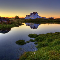 House by the sea (aevarg) Tags: light sunset sea house iceland hdr sland straumur hafnarfjordur photomatix digitalblending nikond700 1424mmf28g varg 3exphdrdri aevarg vargumundsson afnikkor1424mmf28 flickrstruereflection1