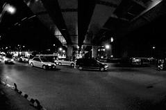 DSC_5689 (Ed Tsai Photography) Tags: city bridge night nikon d90 nikkor105mmf28fisheye