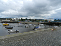 A cloudy Thursday afternoon in Bray harbour