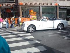 sweden rolls phantom coupe royce drophead