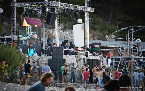 Carl Cox at Kupari Beach, Dubrovnik, Croatia (19.08.2011)