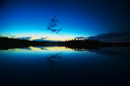Red Rock Lake Sunset 2