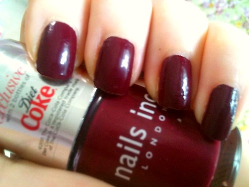 Nails Inc. London Plum by KitaRei