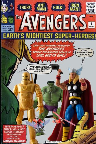 Marvel Universe  - Avengers 1 Cover