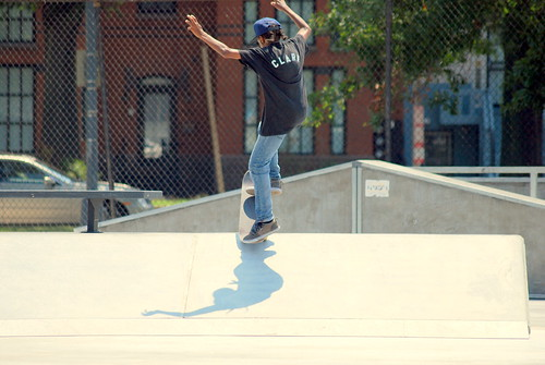 Skateboard Park - Clark Flying High